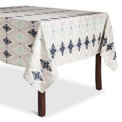 Blue Aztec Tablecloth (52 X70 )- Threshold™