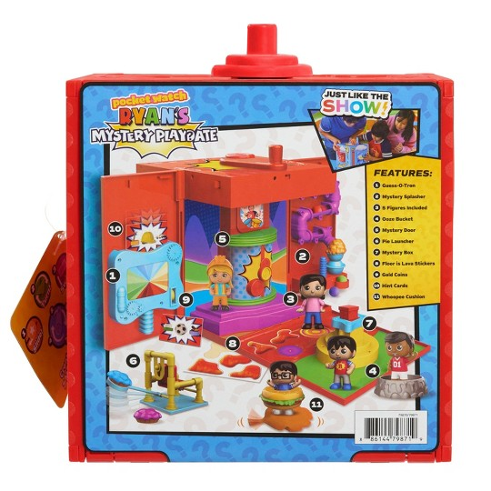Ryan's World Mystery Playdate Large Octagon Mystery Box image number null
