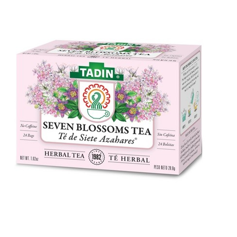 Tadin Siete Azahares Herbal Seven Blossoms Tea Target