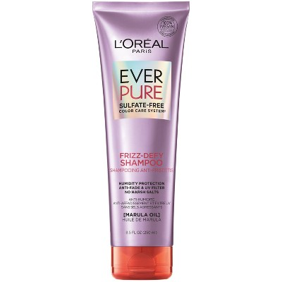 L'Oreal Paris EverPure Sulfate Free Frizz-Defy Shampoo - 8.5 fl oz