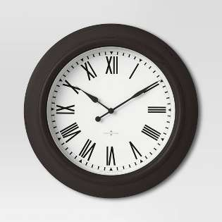 Decorative Wall Clocks For Sale from target.scene7.com
