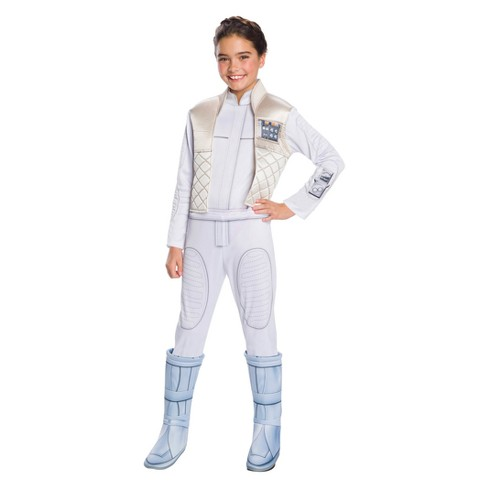 Star Wars Forces Of Destiny Girls' Deluxe Princess Leia Organa Halloween Costume - image 1 of 1