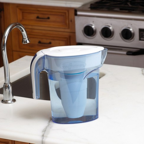 377e048b302 ZeroWater 7 Cup Water Pitcher With Ready-Pour + Free Water Quality Meter    Target