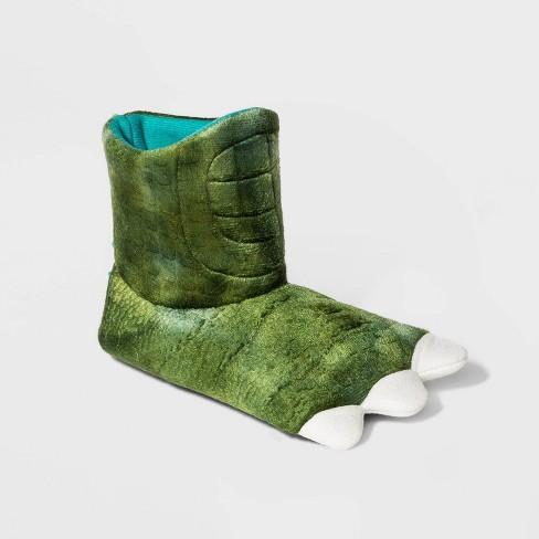 Baby Boys' Slipper Boots - Cat & Jack™ Dark Green 12-24M - image 1 of 3