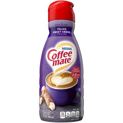 Coffee Mate Sugar Free Italian Sweet Crème Coffee Creamer - 1qt