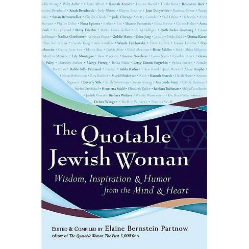 The Quotable Jewish Woman - (Paperback) - image 1 of 1