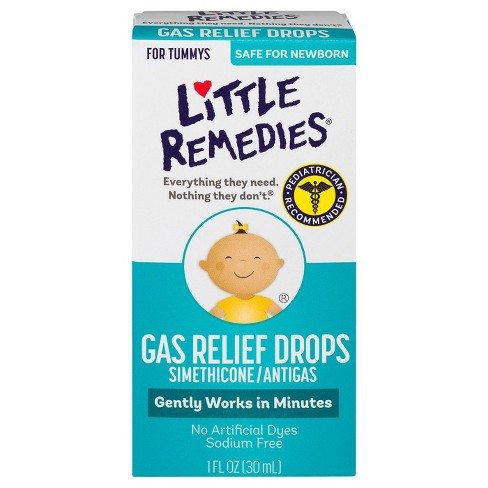 Little Remedies Gas Relief Drops – Natural Berry Flavor – 1 fl oz - image 1 of 4
