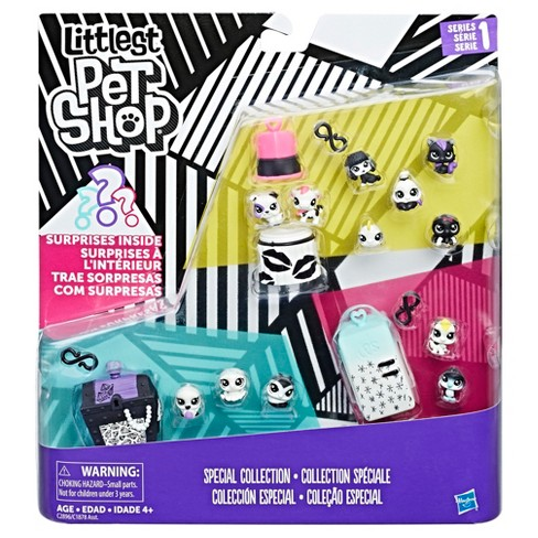 84ebda7a646fa Littlest Pet Shop Black   White Pet Pack   Target