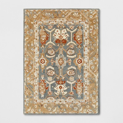 5'X7' Floral Tufted Area Rugs Yellow - Threshold™