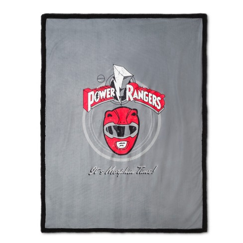 "Power Rangers® Gray Throw Blanket (60""x46"") - image 1 of 1"