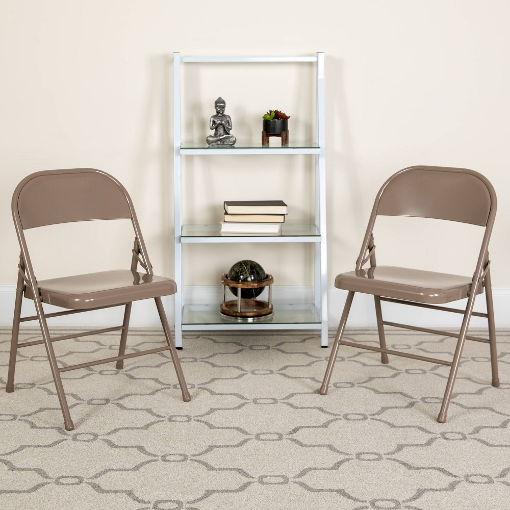 Riverstone Furniture Collection Metal Folding Chair