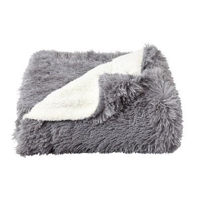 "60""x70"" Faux Fur Throw Blanket - Yorkshire Home"