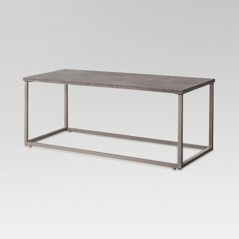 - Heatherstone Metal Patio Coffee Table - Threshold™ : Target