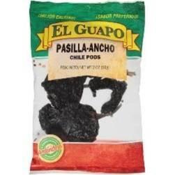 El Guapo Whole Pasilla Chile - 2oz