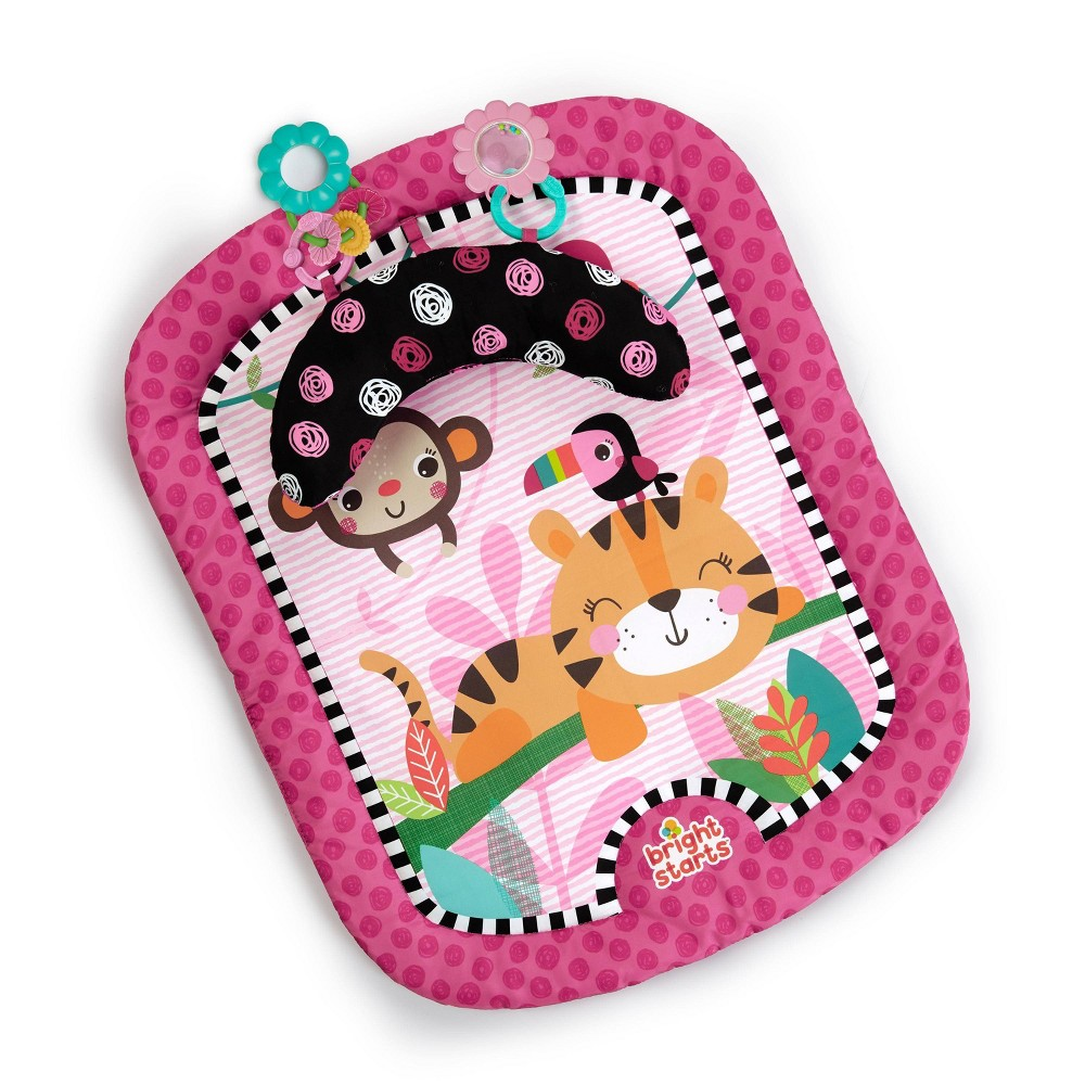 Image of Bright Starts Wild & Whimsy Prop Mat - Pink