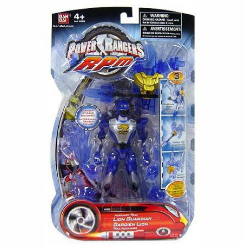 Power Rangers RPM Auxilliary Trax Auxiliary Trax Lion Guardian Action Figure - image 1 of 1