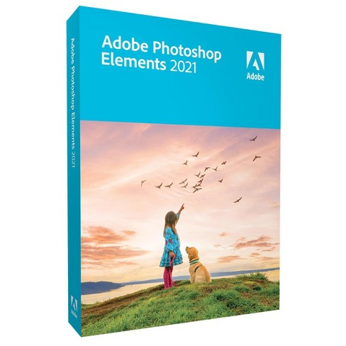 Adobe Photoshop Elements 2021 Software for Mac/Windows, DVD & Download - image 1 of 2