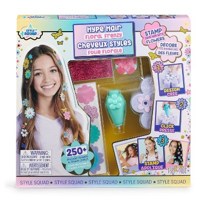 WowWee Style Squad Hype Hair Floral Frenzy Styling Set