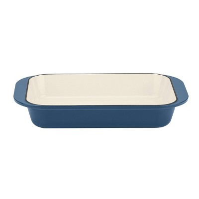 "Cuisinart Chef's Classic 14"" Blue Enameled Cast Iron Roasting & Lasagna Pan - CI1136-24BG"