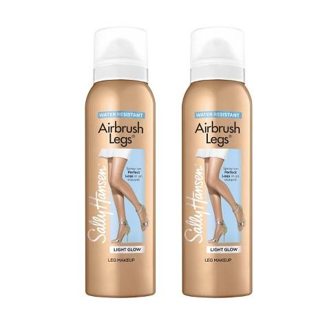 Sally Hansen Airbrush Legs Spray - 01 Light Glow - 2pc/4.4 fl oz ea - image 1 of 1