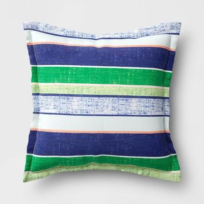 Decorative Throw Pillow Kelly Stripe - Threshold™