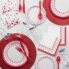 24ct Glitz Red Disposable Flatware Sets - image 2 of 3