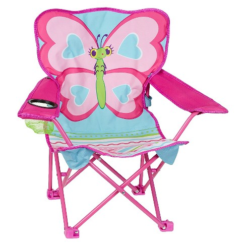 Melissa & Doug® Sunny Patch Cutie Pie Butterfly Folding Lawn and Camping Chair - image 1 of 3