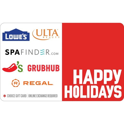 Happy Holidays Gift Card (Email Delivery) - image 1 of 1