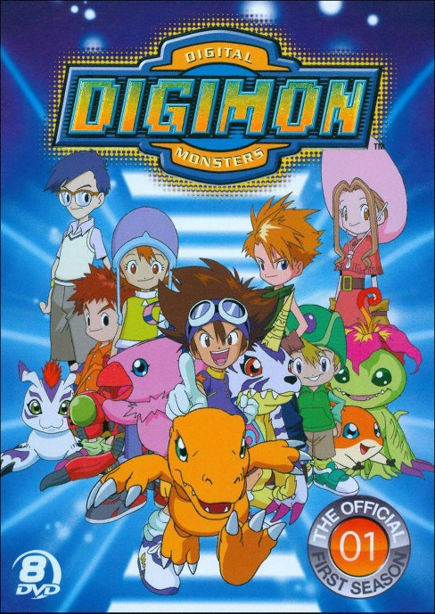 Official digimon adventure set:Comple (DVD) - image 1 of 1