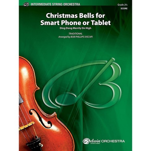 Alfred Christmas Bells for Smart Phone or Tablet String Orchestra Grade 2.5 Set - image 1 of 1