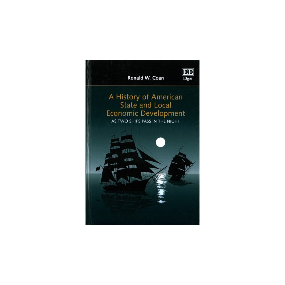 History of American State and Local Economic Development : As Two Ships Pass in the Night - (Hardcover)