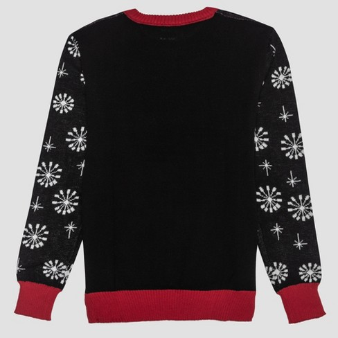 7883d5876 Men's Big & Tall Ugly Holiday Nightmare Before Christmas Sweater ...