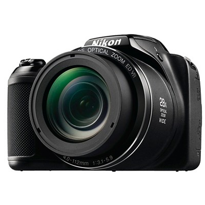 Nikon COOLPIX L340 20.2MP Digital Camera with 28x Optical Zoom - Black
