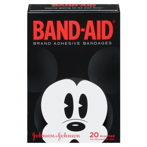 Band-Aid Adhesive Bandages Mickey Mouse, Assorted Sizes - 20ct - image 1 of 8