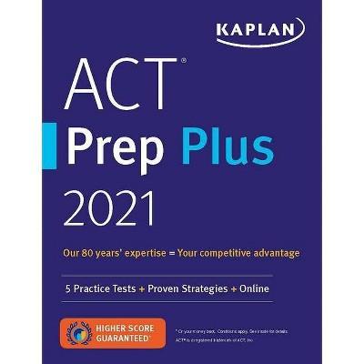 ACT Prep Plus 2021 - (Kaplan Test Prep) (Paperback)