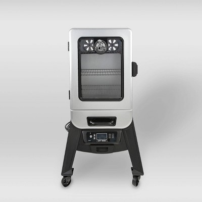 Pit Boss 2.2 Digital Electric Smoker with Window 77221 - Silver