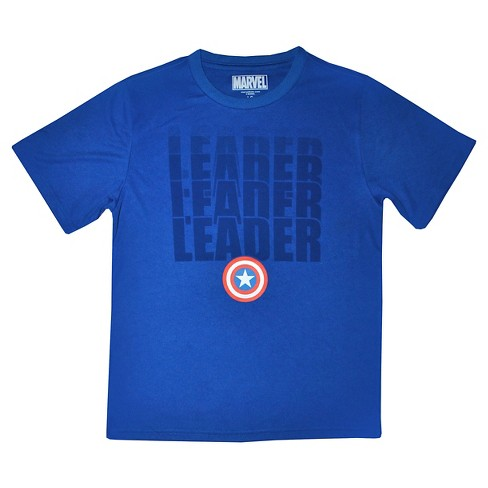 Marvel Leader Cascade Boys' Active T-Shirt - Blue XL - image 1 of 1