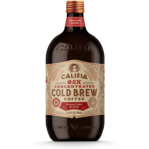 Califia Farms Signature Blend Concentrated Cold Brew Coffee - 25.4 fl oz - image 1 of 3