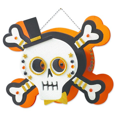 Halloween 3-D Skull Craft Kit - Hyde and Eek! Boutique™ - image 1 of 2