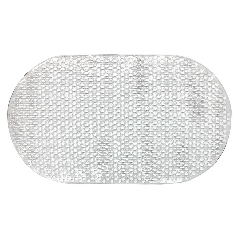 Small Bubble Bath Mat Clear - Room Essentials™ - image 1 of 1