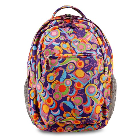 "JWorld 19"" Cornelia Laptop Backpack - Funky - image 1 of 4"