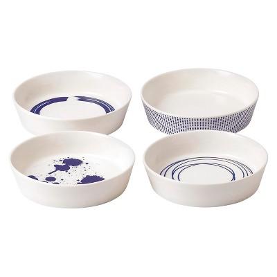 Royal Doulton® Pacific Porcelain 4pc Serving Dishes White/Blue