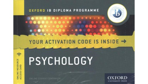 Ib Psychology Online Course Book : Oxford Ib Diploma Programme -  (Hardcover) - image 1 of 1