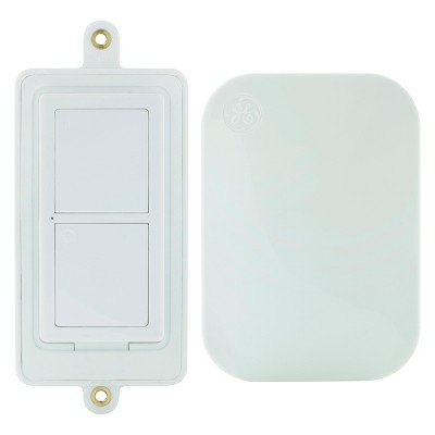 mySelectSmart Wireless Remote Control Light Switch 1-Outlet, White - General Electric