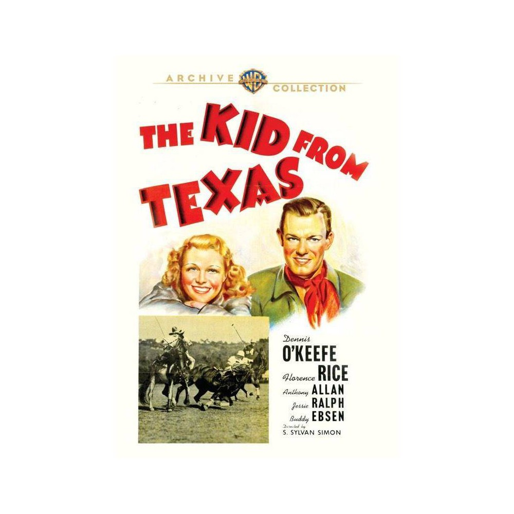 The Kid From Texas Dvd 2017