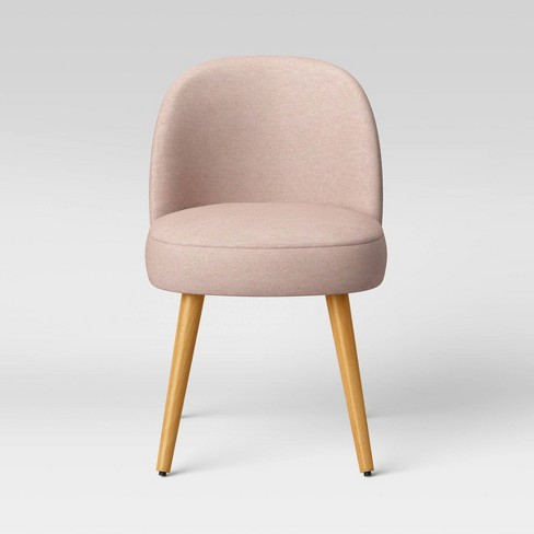 Stene Round Upholstered Dining Chair Textured Woven - Project 62™ - image 1 of 4