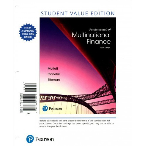Fundamentals of Multinational Finance (Paperback) (Michael H. Moffett & Arthur I. Stonehill & David K. - image 1 of 1