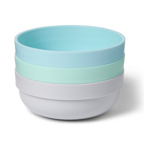 Bowl with TPR Bottom - Cloud Island™ 3pk - image 1 of 1