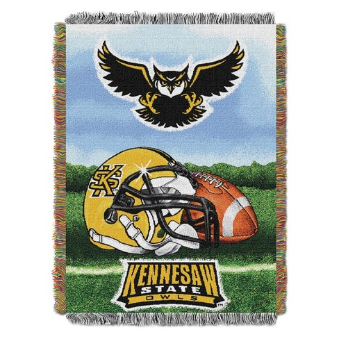 Throw Blankets Kennesaw State Owls Ncaa 48x60 Target