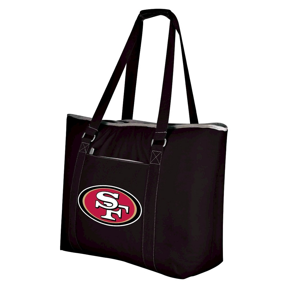San Francisco 49ers - Tahoe Cooler Tote by Picnic Time (Black)